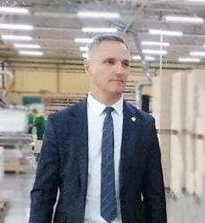 Заместитель председателя концерна «Беллесбумпром» на ОАО «Речицадрев»